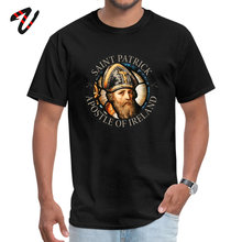 Family T-shirt Saint Patrick Apostle of Ireland Army Crew Neck Men T Shirts Unique Tees 2019 New Short Sleeve General Tshirt