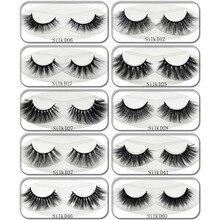 Lash New Arrival 3D Silk Lashes Eyelashes Natural Thick Long Lashes False Lashes Handmade Eyelash Extension Makeup 1 Pair