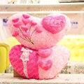 Мультфильм любители 3D роуз в форме сердца плюшевые игрушки любовь свадебный подарок валентина подарок для подруги мягкая сна подушка подушки