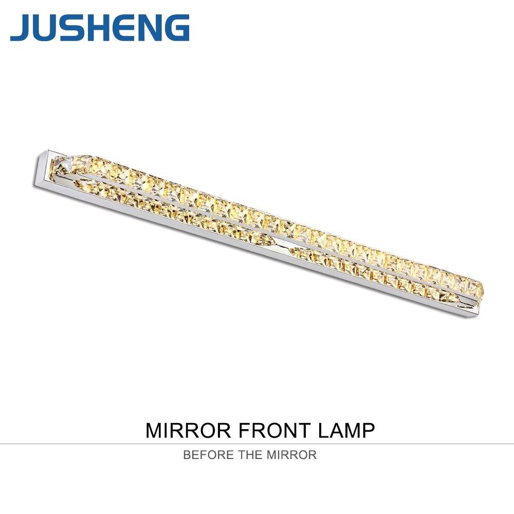 JUSHENG Modern Linear Bathroom LED Mirror Light AC220V Warm White/Cool White LED Wall Lamps in Washroom led mirror light wall front lamps bathroom light 1w 3w 5w 7w 9w 15w samsung chip smd 5050 ac85 265v bulb white warm white uw