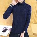Men's sweater 2016 winter  Korean version of hedging high collar sweater thickening plus size hot sale code M-5XL