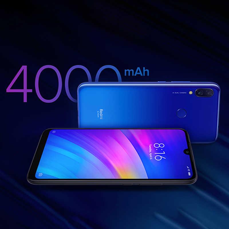 "Versión Global Original Xiaomi Redmi 7 3GB 32GB Snapdragon 632 Octa Core 12MP cámaras duales 6,26 ""Pantalla teléfonos móviles 4000mAh CE"