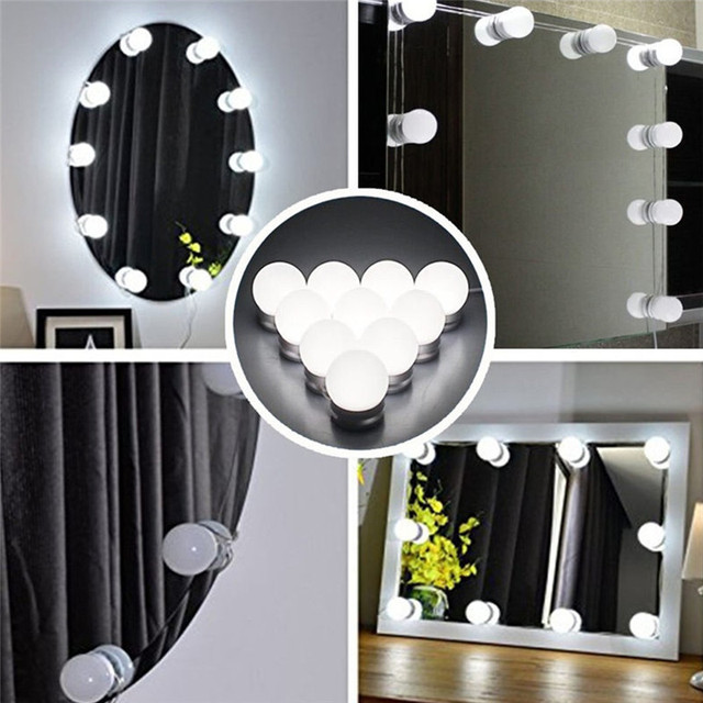 Lighting Fixture Strip For Makeup Vanity Table Set Led Vanity Mirror