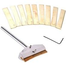 ไฟฟ้ากีตาร์ซ่อมเครื่องมือโลหะผสมFretboardกดCaulกดCaulแทรกเครื่องดนตรีอุปกรณ์เสริม Golden,เช่นคำอธิบาย