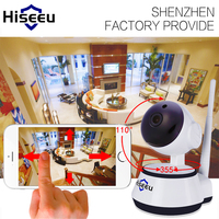 FREE SHIPPING 720P HD IP Camera WiFi Wireless TF Card Storage Network PTZ Security CCTV Night