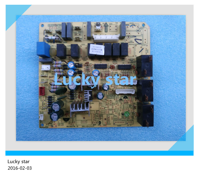 все цены на 98% new for Gree Air conditioning computer board circuit board GRJ302-A1 30133017 M303F3M good working онлайн
