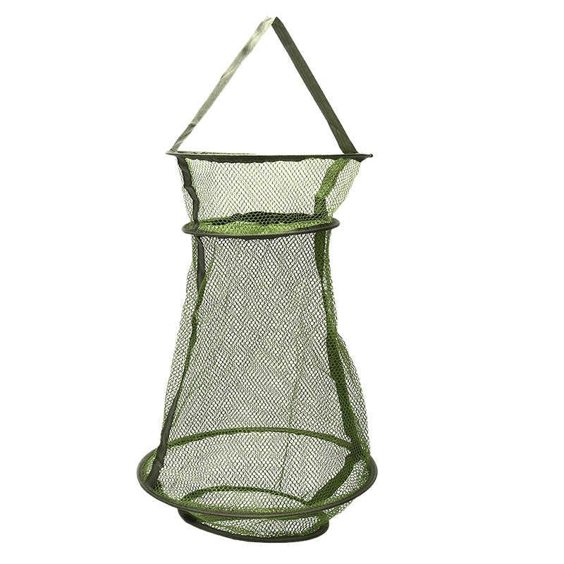 Rede de pesca macia de borracha, acessório de gaiola para pesca, rede de pouso com fundição, 1 peça ferramentas,