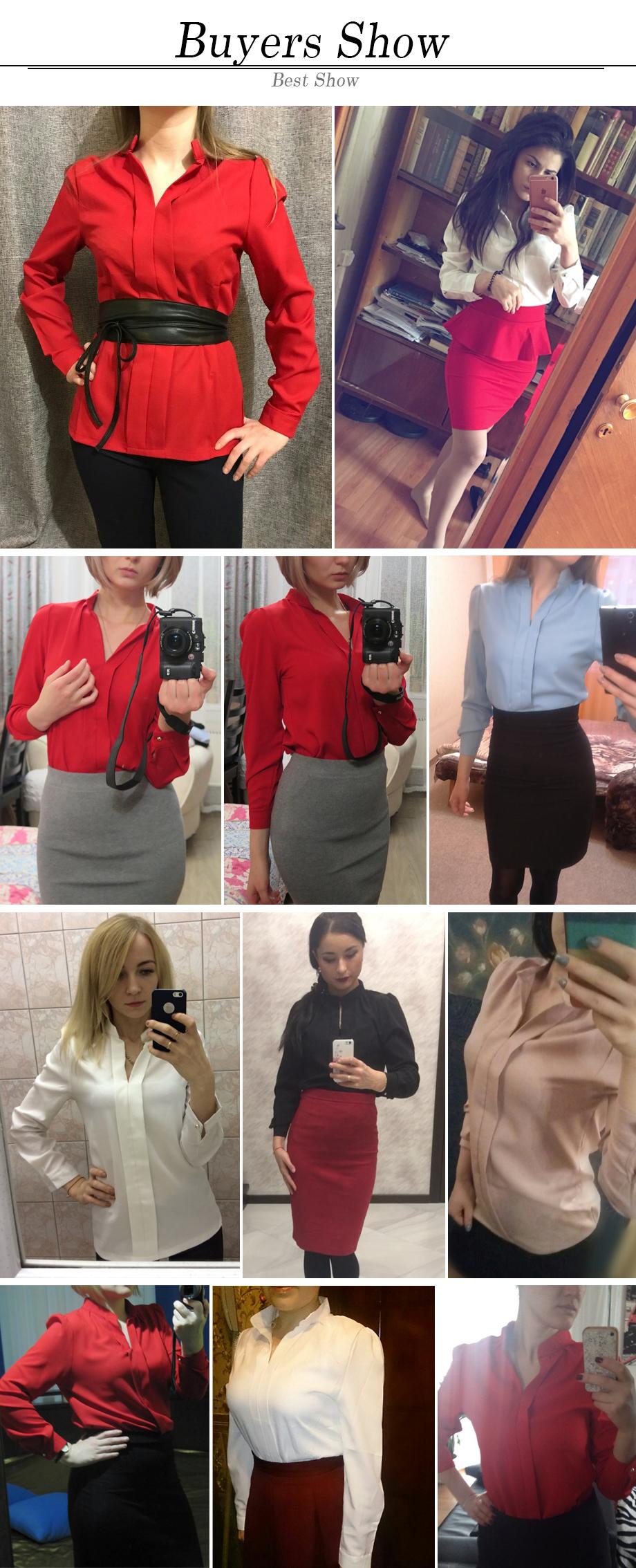 HTB1ULxwPVXXXXbNXVXXq6xXFXXXR - Long Sleeve Elegant Ladies Office Shirts Fashion Casual Slim Women