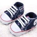Zapatos de Bebé calientes Brand New Kids sneakers Prewalker Niños Pequeños Recién Nacido Primer Caminante de la Estrella de Lona de la Marca bebe Zapatos de los muchachos