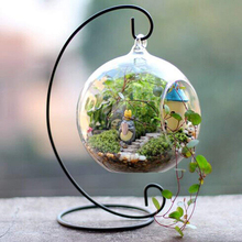 Micro-Landscape Hanging Bottle Iron Frame Multi-Small Home Decoration Crafts