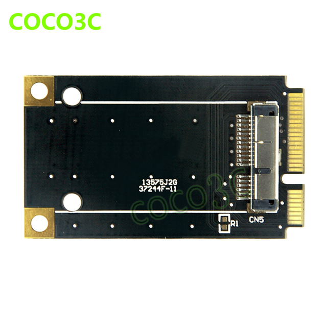 US $19 56 |mini pcie card to wireless wifi card mini pci e to 3G network  adapter BCM94360CD / BCM94331CD module for macbook Pro/Air-in Network Cards
