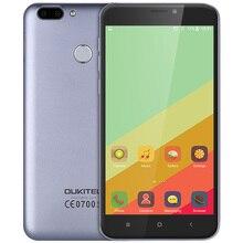 Oukitel U20 Plus Mobile téléphone 5.5 pouce MTK6737T Quad Core 4G Android 6.0 13MP Double Objectif Retour Caméra 2 GB 16 GB Smartphone
