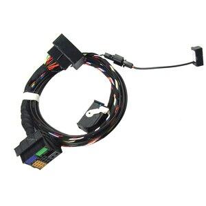Image 4 - Für Volkswagen RNS510 9W2 9W7 9ZZ Auto Radio Bluetooth Modul Direkte Plug Drahtlose Microphne Harness Kabel 1K8035730D