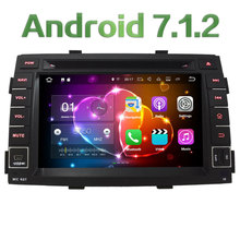 Quad-Core Android 7.1.2 2GB RAM 4G WIFI DAB+ RDS SWC Car DVD Multimedia Player Radio Stereo For Kia Sorento 2009 2010 2011 2012