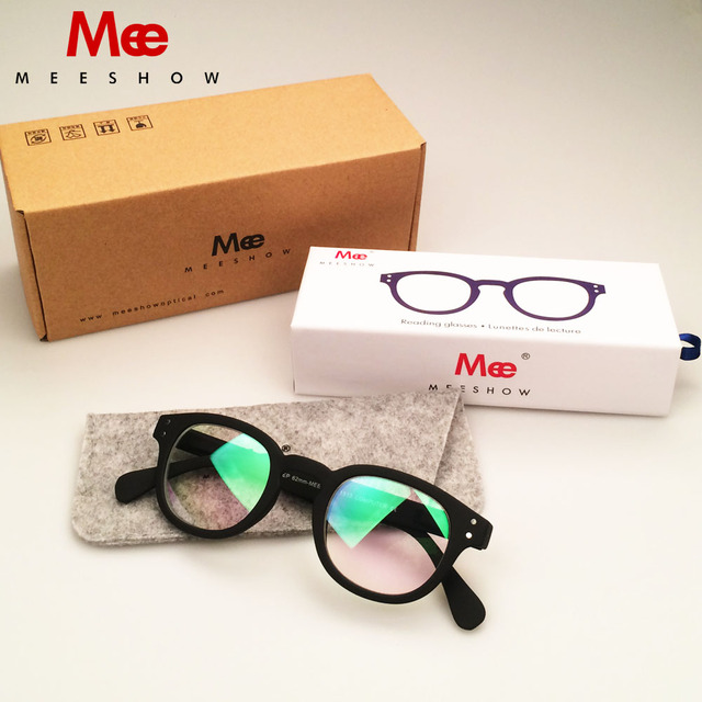 db578cd2539 MEESHOW stylish Men women eyeglasses computer lens SCREEN protective BLUE  block anti-blue ray gift case included 1513