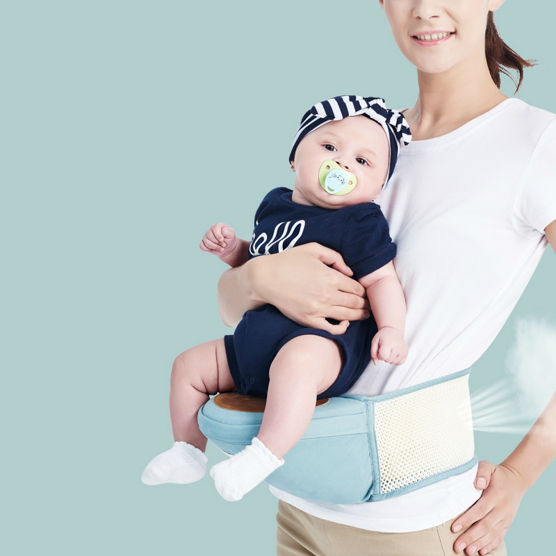 ФОТО Hot Selling Baby Waist Stool Baby Carrier Soft Baby Hipseat With Belt Infant Carrier Multifunctional Wasit Stool Safety Belt