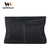 Wmnuo Men Handbag Men Clutch Wallets Coin Purse Soft Cow Leather High Quality Men Hand Bag 2018 Fashion Casual Phone Bag Simple