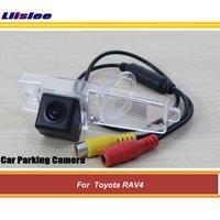 Liislee For Toyota RAV4 CCD Night Vision Car Rear Camera / Reversing Parking Camera AUTO CAM / Vanguard NO Spare Wheel On Door