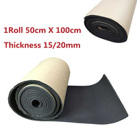 Hot Sales 15 20mm Automobiles Sound Proofing Deadening Vehicle Insulation Closed 50 X 100cm Close Cell