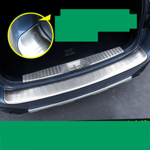 цены lsrtw2017 stainless steel car trunk trims for subaru outback 2015 2016 2017 2018
