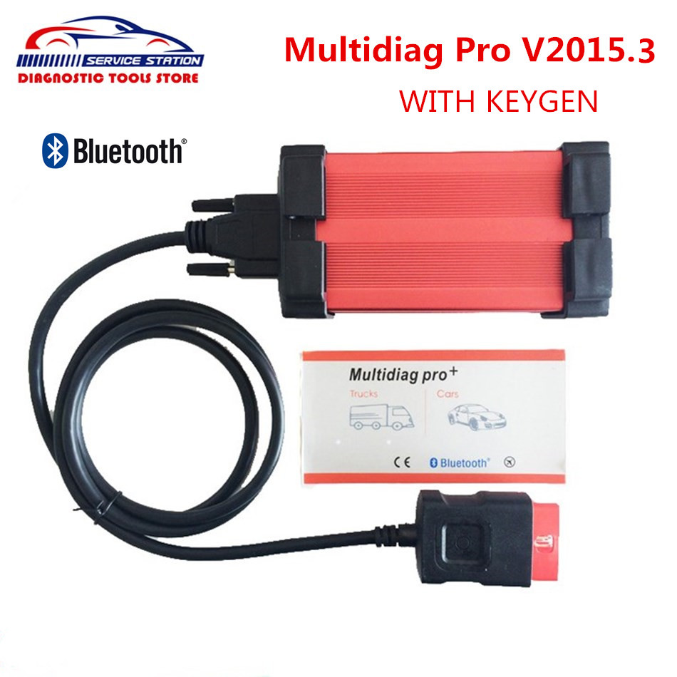 Promotion Multidiag Pro With Bluetooth Newest 2015 R3 with keygen tcs cdp New VCI Diagnostic Scanner