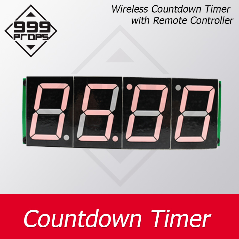 999PROPS  Countdown Timer Room Escape Game Props Four Digital Display Users Can Set Time And Players Escape Within Certain Time