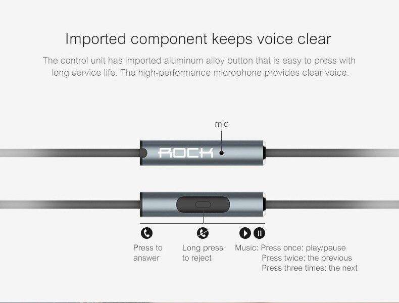 Rock Zircon Stereo Earphone 7