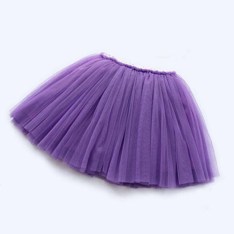 girls skirts princess lovely tutu skirts for 1-12Years kids spring summer clothes 11 color short girls lace skirts dance clothes 6