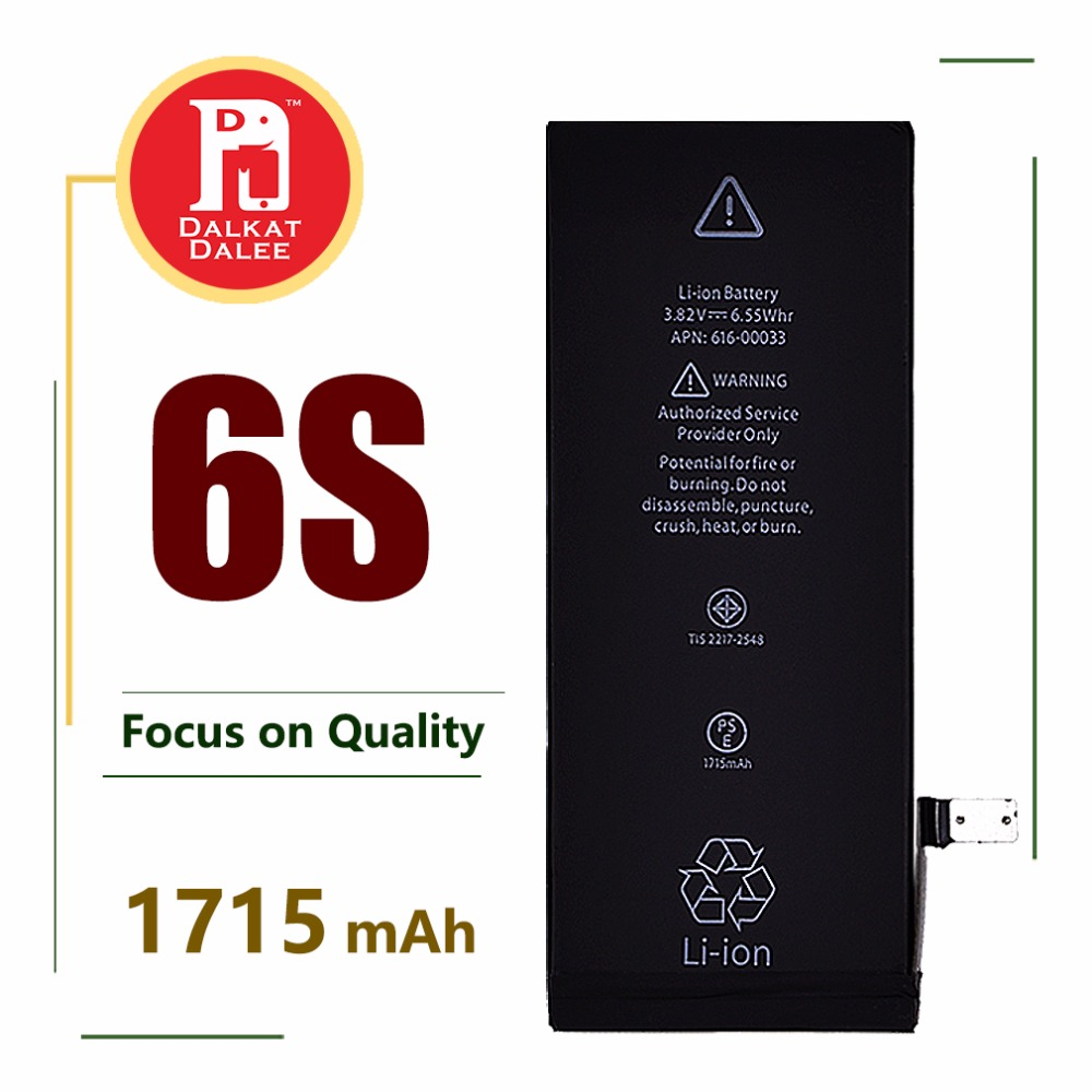Phone-Battery Replacement-Batteries for 6S High-Capacity 1715 Mah