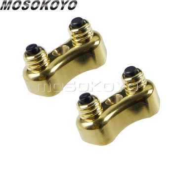 Retro Cafe Racer Dual Mini Handlebar Switch Button 22mm/25mm On/Off Push Button Block for Harley Chopper Yamaha Honda CB XS CL
