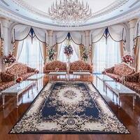 European Style Carpet Living Room Tea Table Mat Bedroom Bedside Big Rug