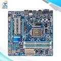 Для Gigabyte GA-H55M-USB3 Оригинальный Б H55M-USB3 Рабочего Материнская Плата Для Intel H55 LGA 1156 Для i3 i5 i7 DDR3 16 Г Микро-ATX