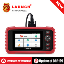 LAUNCH X431 CRP129X Auto Code Reader OBD2 Scanner OBDII Diagnostic Tool ENG AT ABS SRS Oil Brake SAS TMPS ETS Automotive Tool