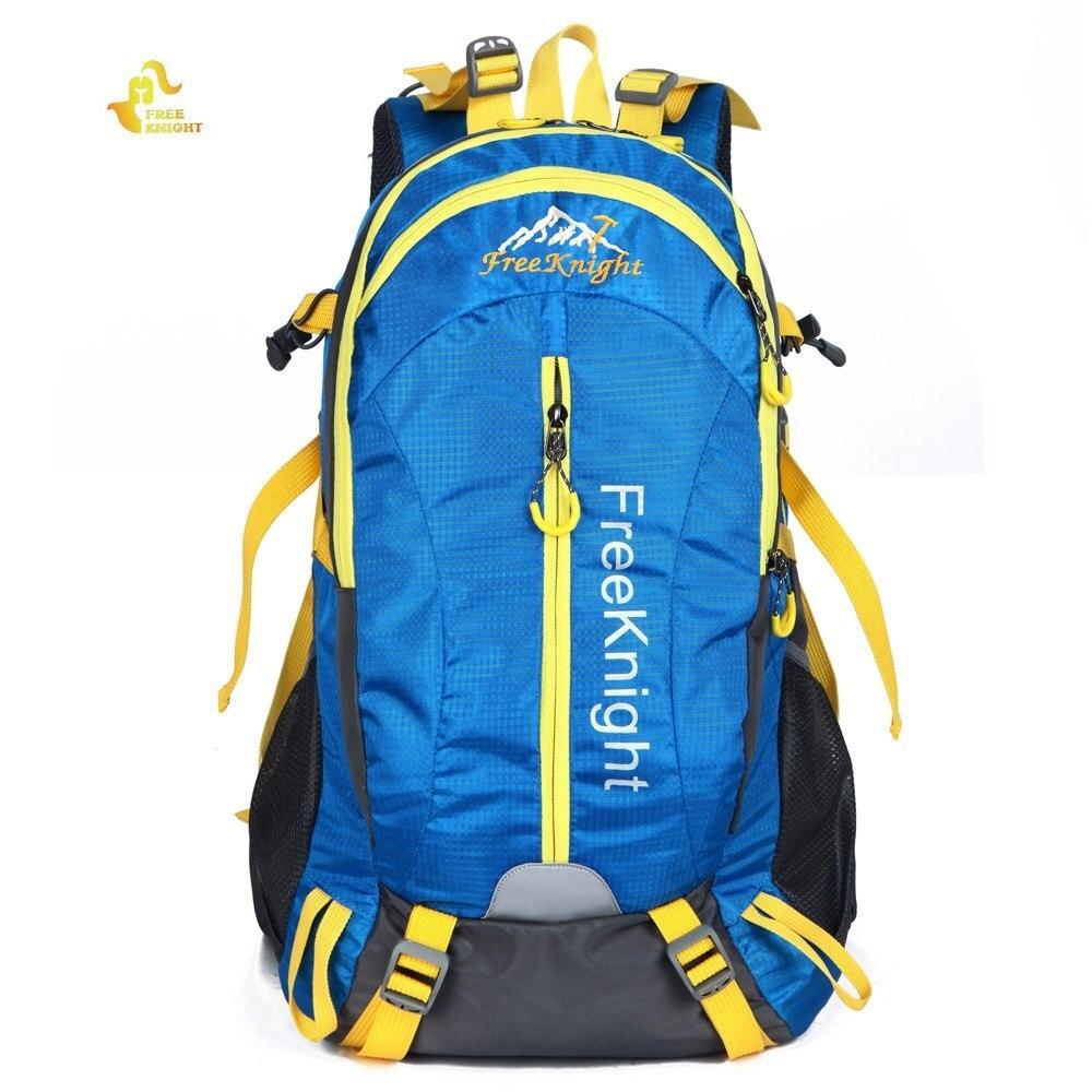 50L unisexe équitation vélo sac à dos étanche Camping sacs à dos en Nylon qualité sac de sport de plein air pour hommes femmes voyage randonnée sac