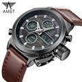 Sport Military Watches Dive 30M LED Watches Men Top Brand Luxury AMST Genuine Quartz Watch reloj hombre Relogio Masculino