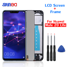 For Huawei Mate 20 lite LCD Screen Display Touch Digitizer SNE-LX1 SNE-L21 SNE-LX3 SNE-LX2 L23 For Huawei Mate 20 Lite 100% Test s lie sne
