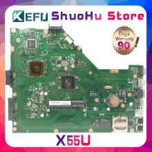 KEFU para ASUS X55U REV1.4 placa base para ordenador portátil probada 100% placa base original de trabajo(China)