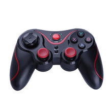 1pc Red Wireless Bluetooth Game Controller Joystick for PlayStation PS3 for Microsoft Xbox360 PC Android Devices Gamepads