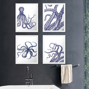 Octopus Posters and Prints Wal