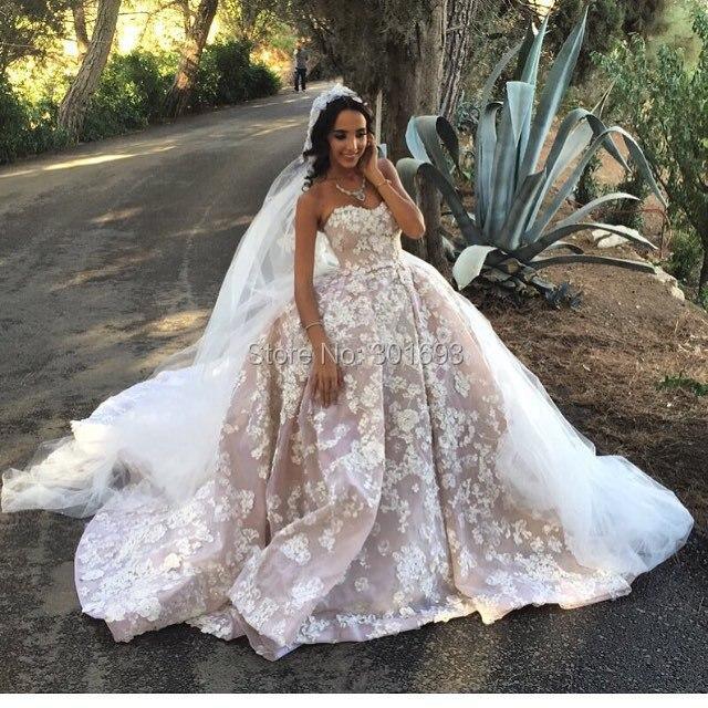Two Tone Lace Wedding Dress Ideas