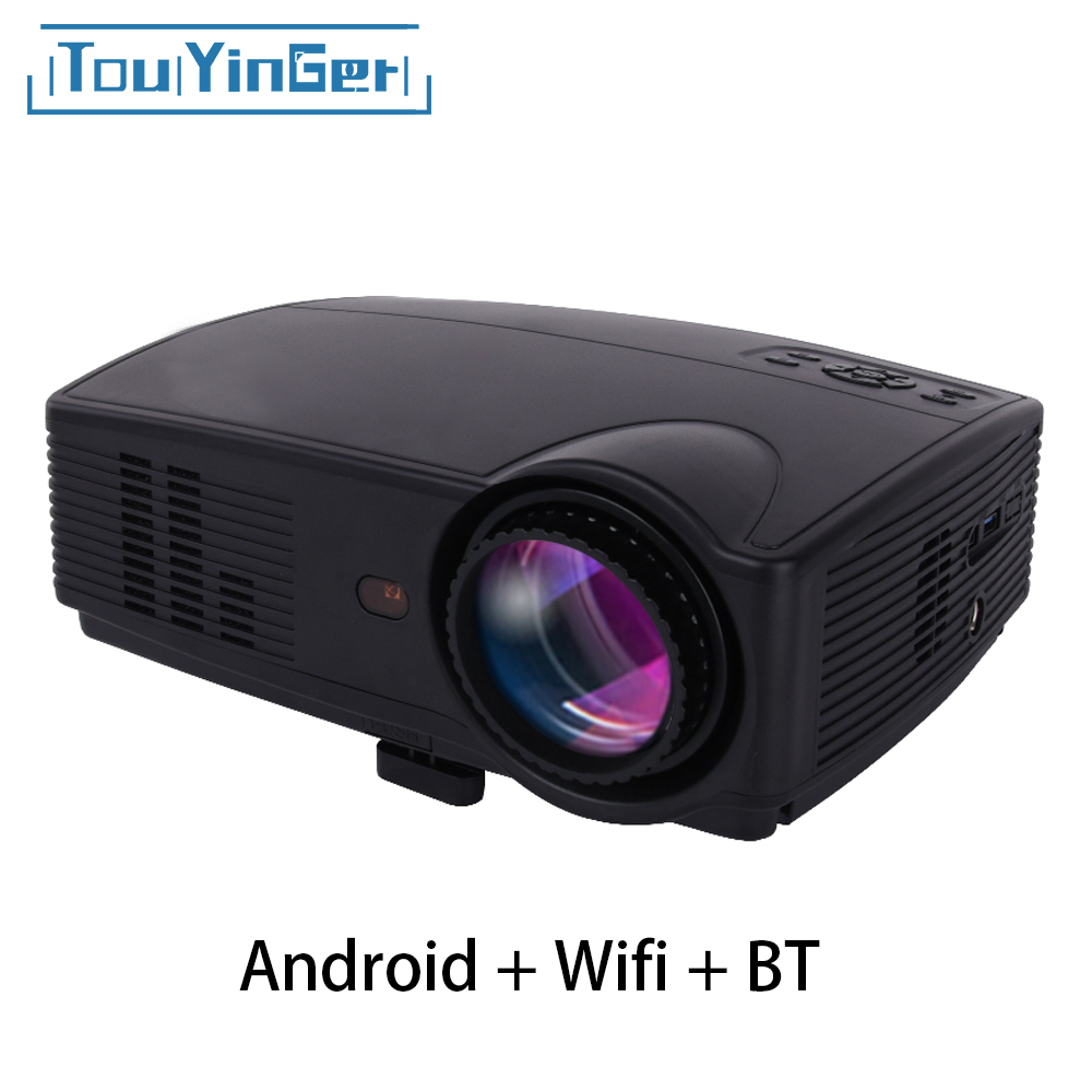 Led Projector 3500 Lumens Beamer 1280 800 Lcd Projector Tv: Dropwow TouYinger G4 200'' Mini Portable Android 3D DLP