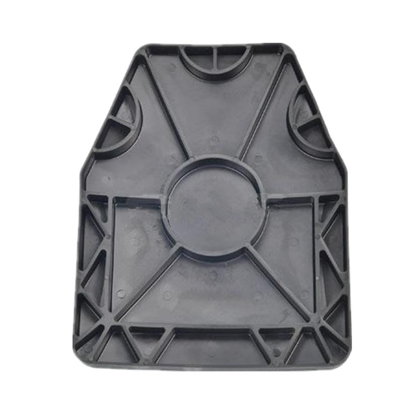 For Tactical Vest Sports Vest SAPI Dummy Ballistic Plate Set TPE80 Degree Black DE