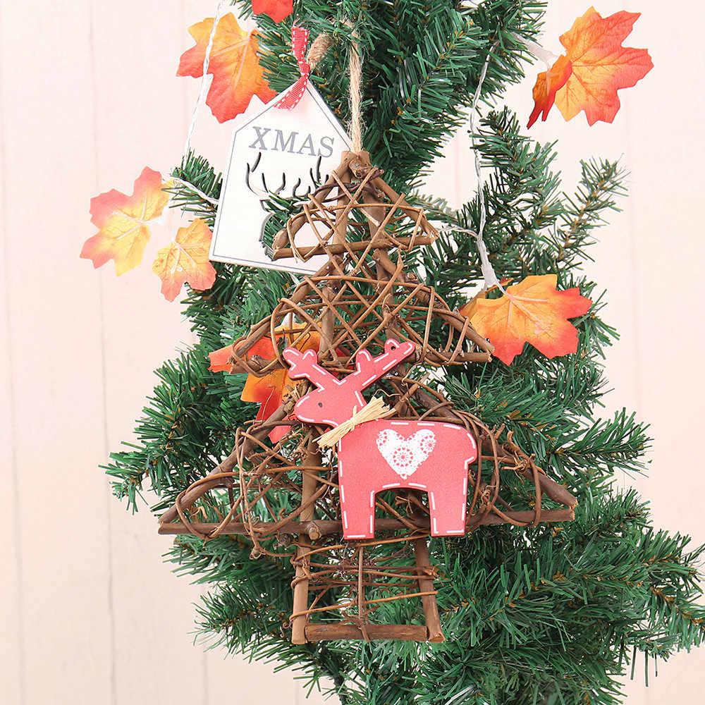 1 шт. Рождественский венок струнный свет Новый год праздник Фея огни домашняя гостиная украшение Лампа Рождественская елка огни 18Oct