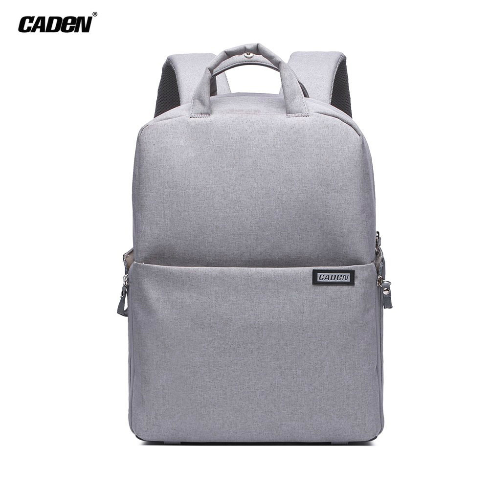 Caden Professional Camera Bag Multifuction WaterProof Shockproof Backpack Laptop Bag Padded Insert For Sony Canon Nikon Olympus new pattern caden l5 camera backpack bag stylish nylon multifunction shockproof video photo bags fit for canon 50d 60d 100d 550d