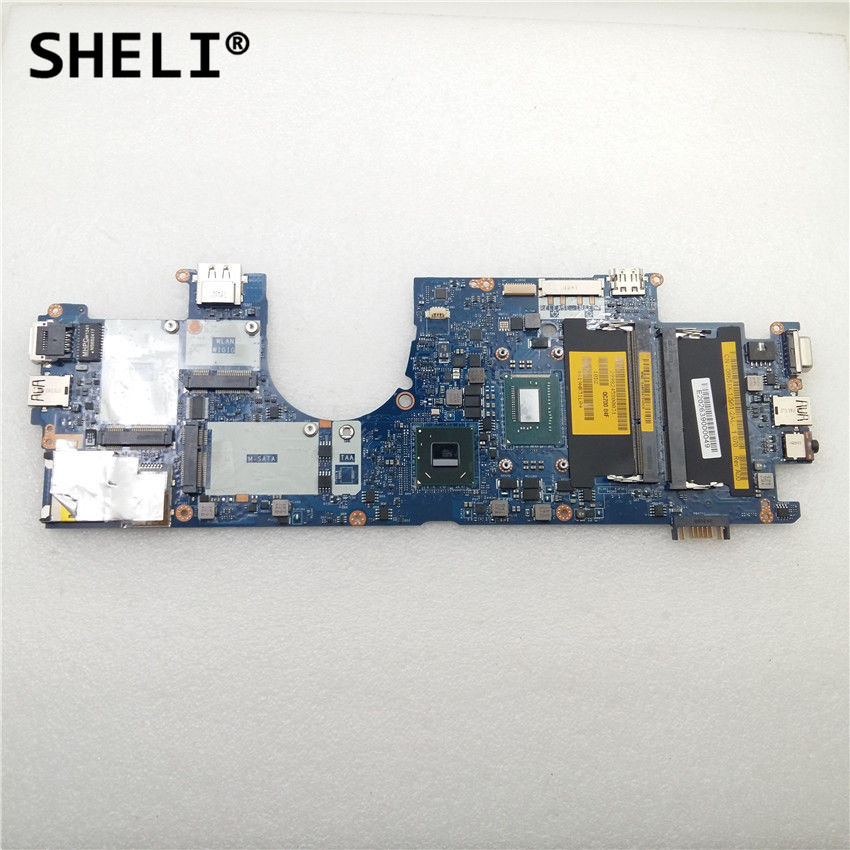 SHELI For Dell 6430U Laptop Motherboard I3-3217U LA-8831P CN-02RH8P 02RH8P 2RH8PSHELI For Dell 6430U Laptop Motherboard I3-3217U LA-8831P CN-02RH8P 02RH8P 2RH8P