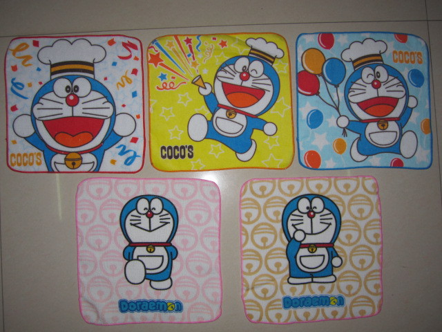 2 pieces/lot New Arrival Cartoon Lovely Printed Doraemon
