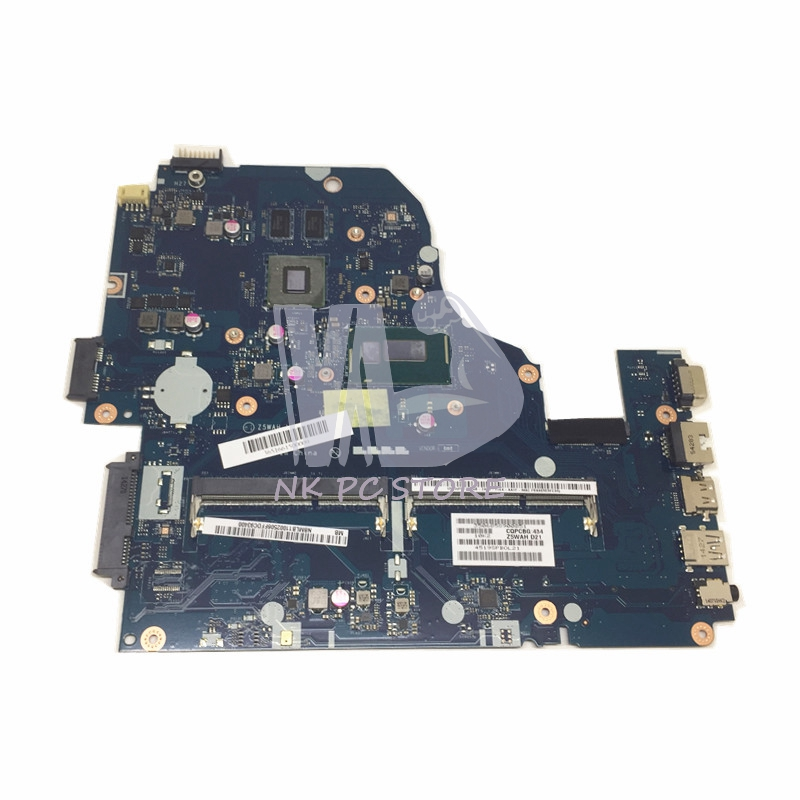 NBMLB11002 NB.MLB11.002 For Acer aspire E1-571 E5-571G Laptop Motherboard Z5WAH LA-B162P I3-4030U GeForce 820M Video Card vg 86m06 006 gpu for acer aspire 6530g notebook pc graphics card ati hd3650 video card