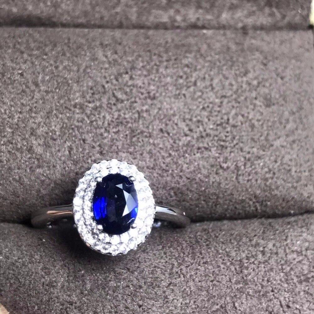 Uloveido 925 Silber Dark Blue Sapphire Versprechen Ring Klassische Seltene Edelstein Birthstone Billig Hochzeit Schmuck für Frauen 20% FJ311-in Ringe aus Schmuck und Accessoires bei  Gruppe 2