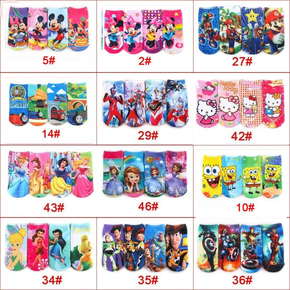 25% Wholesale 12pairs/lots kid's boys girls sock children socks boys cartoon socks 1-8T TP01 цена 2017