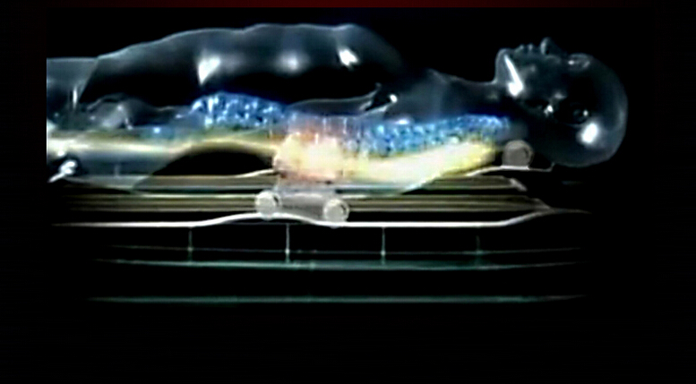 3 D дать массажи кровать. Классная музыка General Electric нагрева Jade Массажная кровать. Нефрита физиотерапия кровать